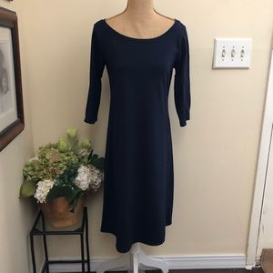 Eileen Fisher Dress xs Navy